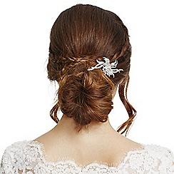 No. 1 Jenny Packham - Designer silver swirl hair comb