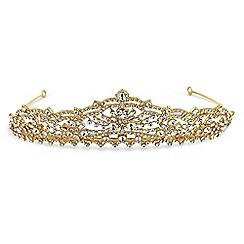 No. 1 Jenny Packham - Designer gold crystal tiara