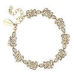 No. 1 Jenny Packham - Designer crystal leaf link bracelet