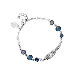 No. 1 Jenny Packham - Designer blue multi bead bracelet