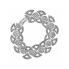 No. 1 Jenny Packham - Designer pave scalloped bracelet