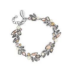No. 1 Jenny Packham - Designer multi stone peach bracelet