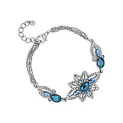 No. 1 Jenny Packham - Designer blue statement bracelet