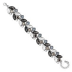 No. 1 Jenny Packham - Designer grey tonal navette bracelet