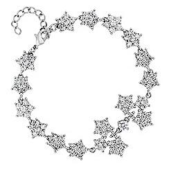 No. 1 Jenny Packham - Designer crystal star cluster bracelet