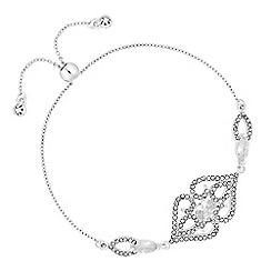 No. 1 Jenny Packham - Designer filigree toggle bracelet