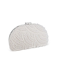 Jon Richard - Lily scallop design pearl clutch