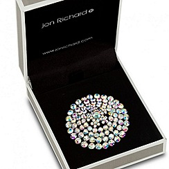 Jon Richard - Aurora borealis crystal dome brooch