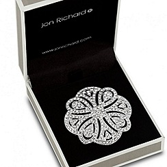 Jon Richard - Crystal embellished Celtic brooch