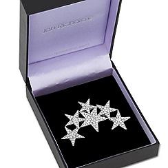 Jon Richard - Crystal embellished six star brooch