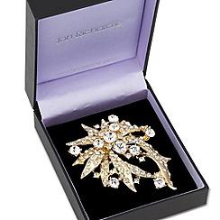 Jon Richard - Vintage style crystal embellished brooch