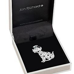 Jon Richard - Dalmatian crystal embellished brooch