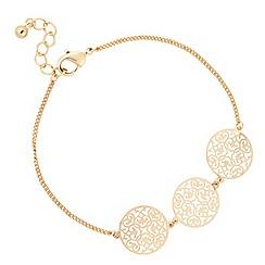 Jon Richard - Gold filigree bracelet