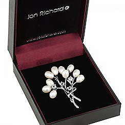 Jon Richard - Pearl sprig brooch