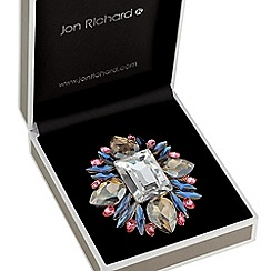 Jon Richard - Kaleidoscope crystal brooch