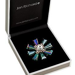 Jon Richard - Crystal burst brooch