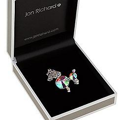 Jon Richard - Aurora borealis poodle brooch
