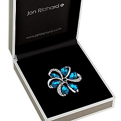 Jon Richard - Crystal twist brooch