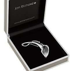 Jon Richard - Silver tulip brooch