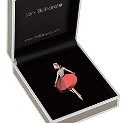 Jon Richard - Crystal dancer brooch