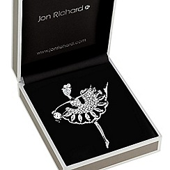 Jon Richard - Crystal ballet dancer brooch