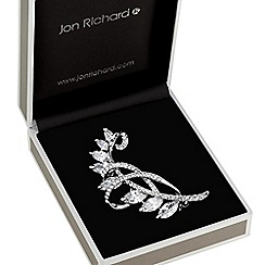 Jon Richard - Crystal spray brooch