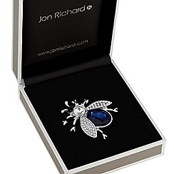 Jon Richard - Crystal bug brooch