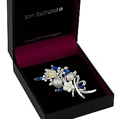Jon Richard - Floral bouquet brooch