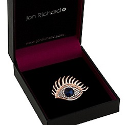 Jon Richard - Crystal eye brooch