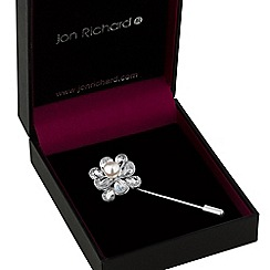 Jon Richard - Flower pin brooch