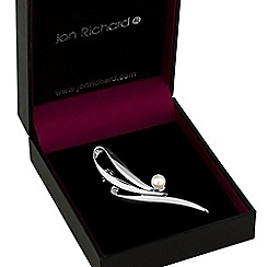 Jon Richard - Pearl loop brooch