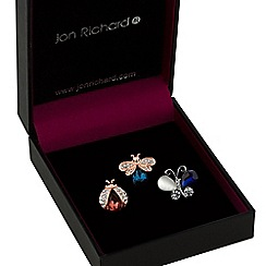 Jon Richard - Bug brooch set