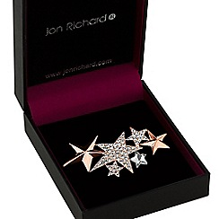 Jon Richard - Crystal multi star brooch
