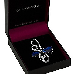 Jon Richard - Crystal loop brooch