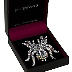 Jon Richard - Statement spider brooch