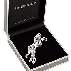 Jon Richard - Crystal jaguar brooch