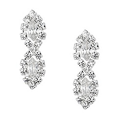 Jon Richard - Lydia diamante earring