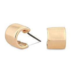 Jon Richard - Polished gold small hoop earring
