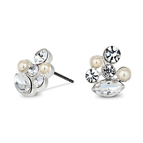 Alan Hannah Devoted - Sienna vintage crystal and pearl earring