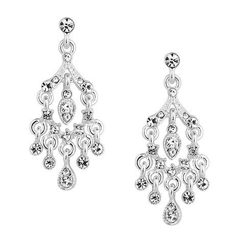 Alan Hannah Devoted - Designer crystal encased chandelier drop earring