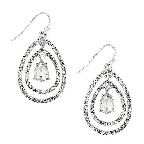 Jon Richard - Statement crystal peardrop earring