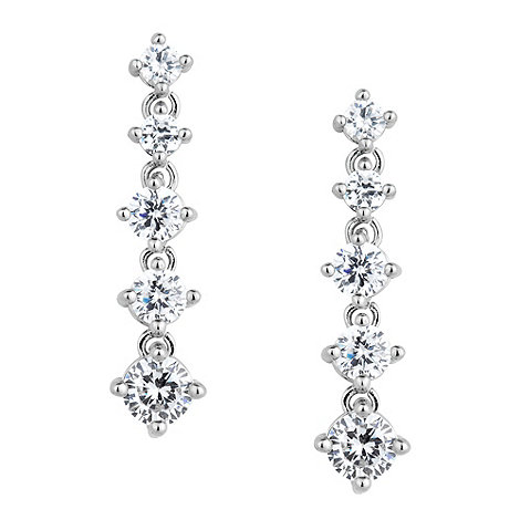Jon Richard - Graduated five crystal drop earring