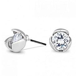 Jon Richard - Crystal tulip stud earring