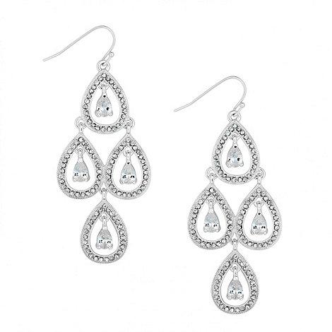 Alan Hannah Devoted - Designer cubic zirconia chandelier drop earring