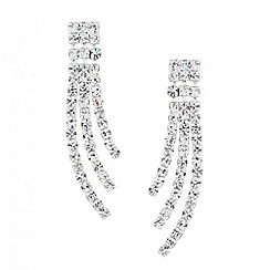 Jon Richard - Diamante crystal spray earring