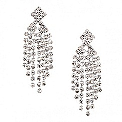 Jon Richard - Diamante crystal shower drop earring
