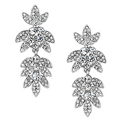 Jon Richard - Vintage leaf earring