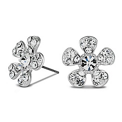 Alan Hannah Devoted - Designer daisy stud earring