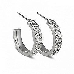 Jon Richard - Crystal encased hoop earring