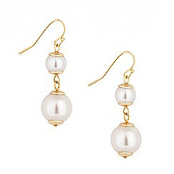 Jon Richard - Graduating pearl drop earring